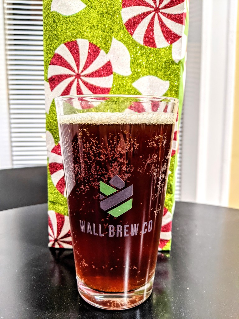 A full glass of Bachelor Brew